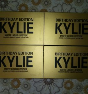 Набор жидких помад Kylie Birthday Edition