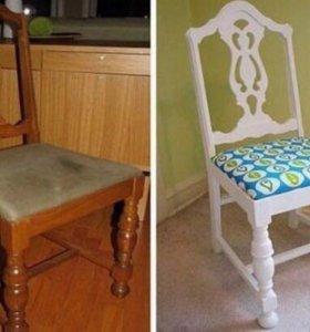 Перетяжка, обивка мебели, пошив чехлов