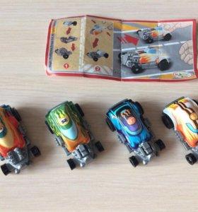 Киндер и другие игрушки 50 штук