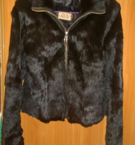 Куртка кожанная кролик