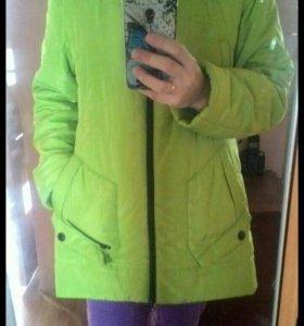 Куртка 46-48 осень, можно беременным