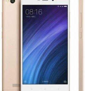 Смартфон Xiaomi Redmi 4A (цвет Gold-White)\экран 5