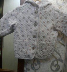 Курточка кофта р 80