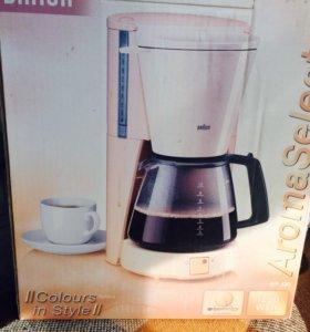 Кофеварка Braun Aromaselect