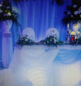 Оформление свадеб, юбилеев, праздников