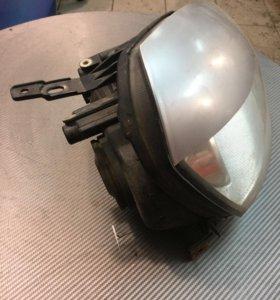 Фара правая решётка радиатора крышки зеркал приора