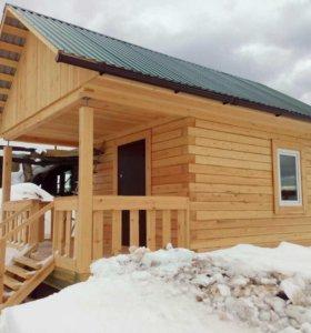 Строительство деревянных домов и бань под коюч