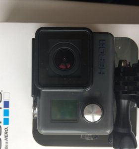 GoPro here +lcd