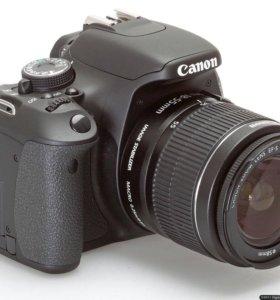 Canon 600d +50mm + сумка и флешка