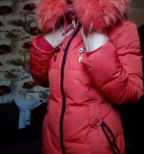 Зимняя куртка б/у.