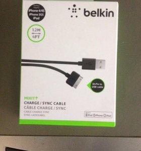 Belkin USB кабель на iPhone 4/4s