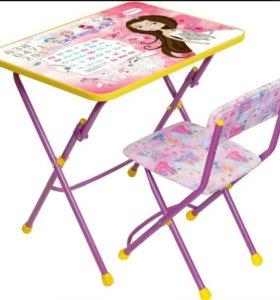 """Новый Комплект мебели """"Маленькая принцесса""""(ост 1)"""