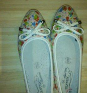 Туфли для девочки 34 размер