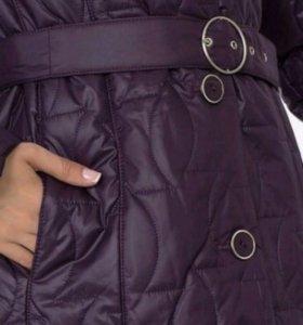 Новый плащ-пальто, 56-58р.