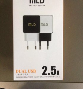 Адаптер на два USB 2.5A