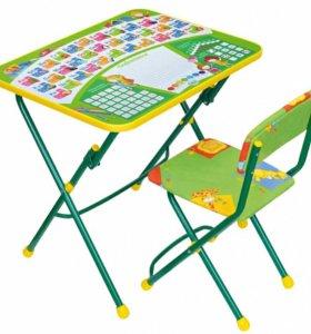 Новый Комплект мебели Nika «Первоклашка»