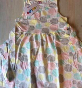 Платье для девочки, новое, на рост 110