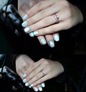 Покрытие ногтей гель-лак (шеллак)‼️‼️‼️