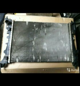 Радиатор охлаждения опель корса д 2011 г