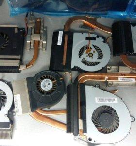 Охлаждение(куллер+ радиатор) для ноутбука