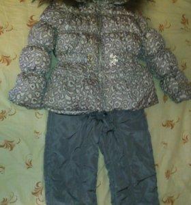 Зимний комбинезон с курткой