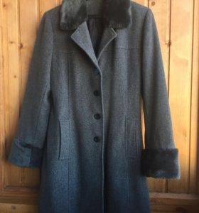 Пальто из 80% шерсти