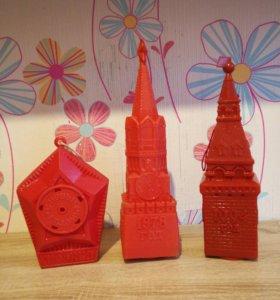 Коробки от новогодних подарков СССР