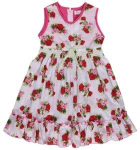 Размеры 110,и 122 новое платье