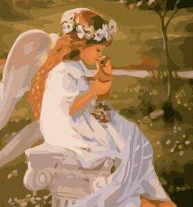 "Картина по номерам ""Поцелуй ангела"""