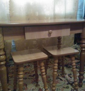 Кухонный стол стулья. Срочно!!! Торг!!!