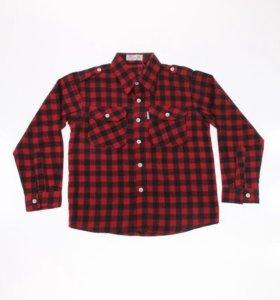 Размеры от 98 до 116 новая рубашка