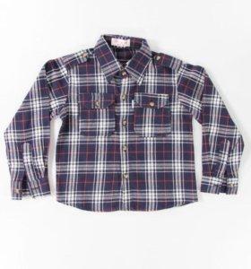 Размеры от 104 до 122 новая рубашка