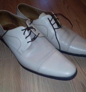 Туфли кожаные новые 45-46