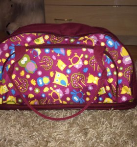 Дорожная сумка с совками (новая)