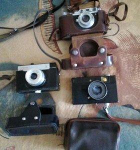 Продам старинные фотоаппараты