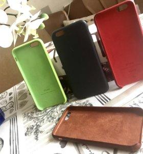 Кожаные оригинальные чехлы для iPhone 6;6s