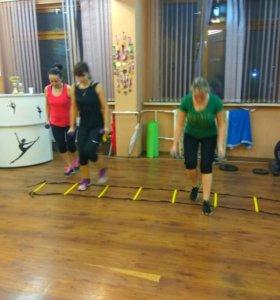 Фитнес, танцы, аэробика, йога, кроссфит