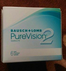 Линзы PureVision -2.75 (BC 8.6)