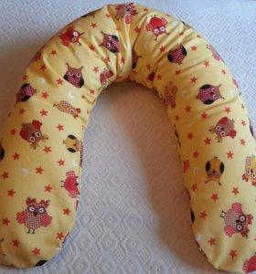 Многофункциональная подушка для беременных.
