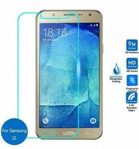 Защитное стекло на Samsung Galaxy J2 prime