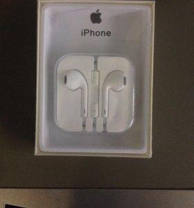EarPods наушники для iPhone iPod
