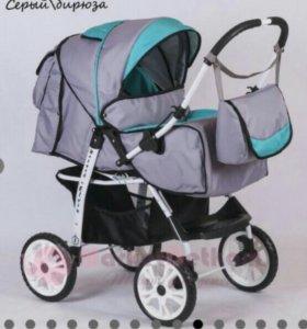Детская коляска-трансформер Bajtek Elvin.