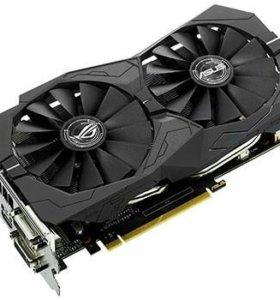 Видеокарта ASUS GeForceGTX 1050ti STRIX GAMING 4GB