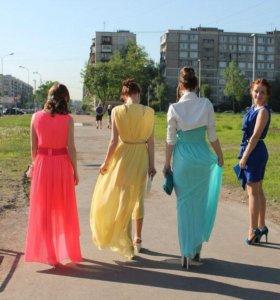 Платье (нежно желтое)