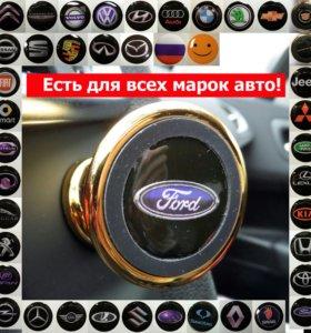 Магнитный держатель телефона в машину на панель