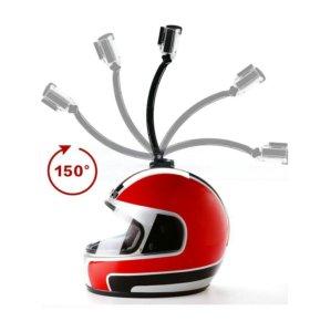 ✔Крепеж на шлем для GoPro, SJcam и др.экшн камер