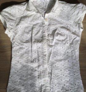 Блузка хлопок xs