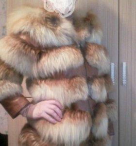 Куртка-шубка из лисы