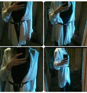 Блуза-кардиган👆