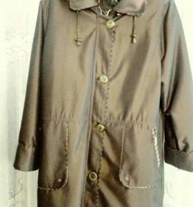 Куртка женская размер 55